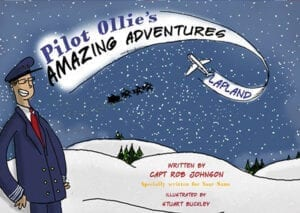 Personalised Book – Pilot Ollie's Amazing Adventures – Lapland