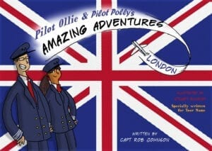 Personalised Book – Pilot Ollie and Pilot Polly's Amazing Adventures – London